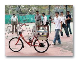 bicycleRobot-จักรยานอัจฉริยะ